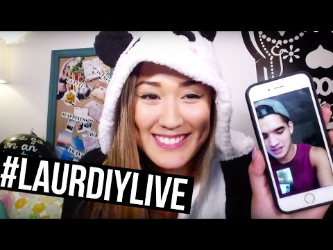 LOVE IS AN OPEN ... NOPE | #LaurDIYLive Ep. 2