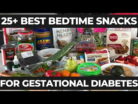 Bedtime Snack For Gestational Diabetes (for Good Blood Sugar Levels)