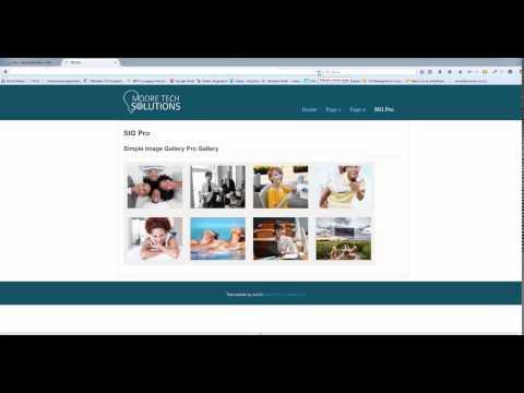 Joomla! Using Simple Image Gallery Pro on Joomla 3