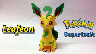 Leafeon PaperCraft Pokemon