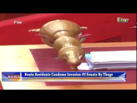 Benin residents condemn invasion of Senate by thugs
