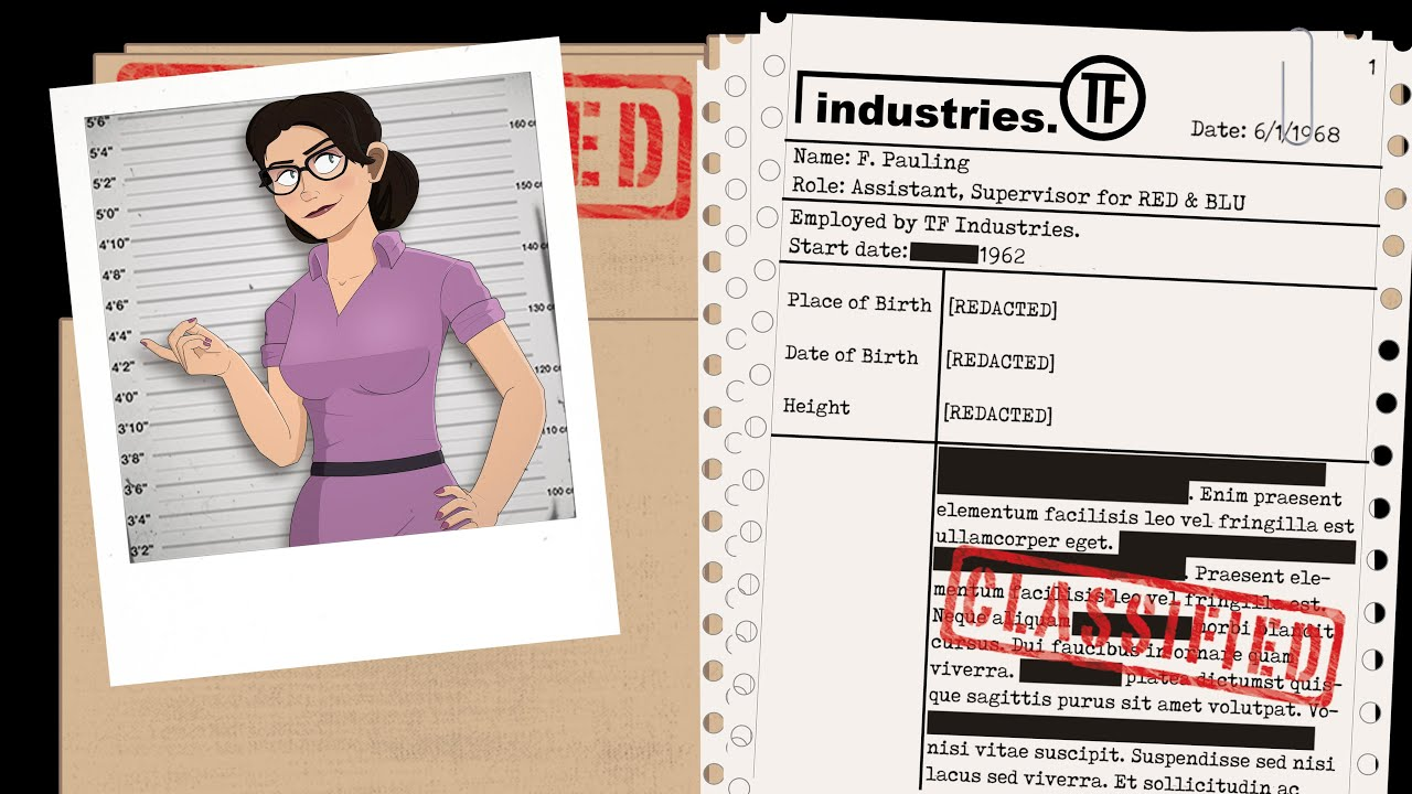 TF2: A Complete History of Miss Pauling