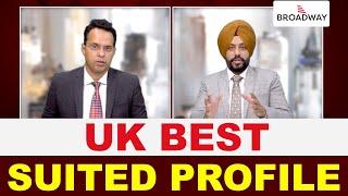 UK BEST SUITED PROFILE | STUDY ABROAD VISA