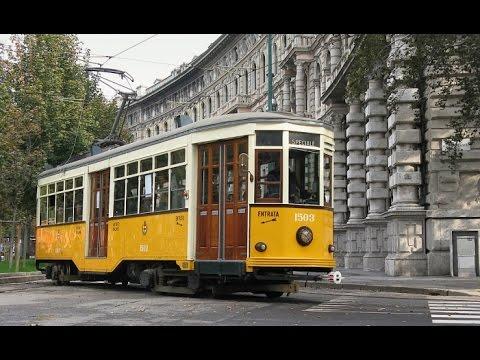 Tram Milan Line 19 Roserio-Cairoli autumn 2015 HD