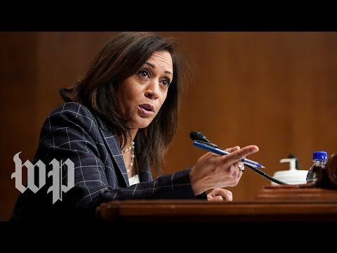 In the Senate, Kamala Harris grilled Trump officials and appointees Over the past three years,, From YouTubeVideos