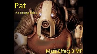Pat The Sniping Volus | Mass Effect 3 Multiplayer