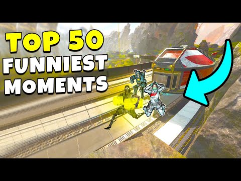 TOP 50 FUNNY MOMENTS IN APEX EVER!