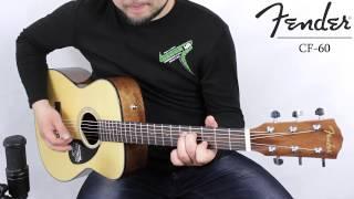�������� ���� Fender CF-60 acoustic guitar :: Demo, Soundcheck ������