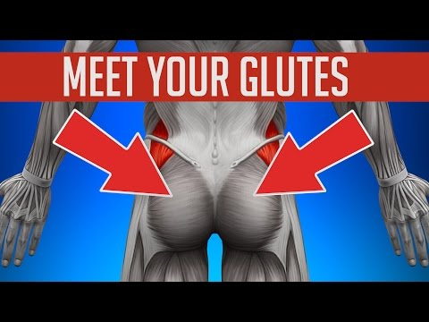 Thumbnail: GLUTES - How to Unlock & Grow Your Glute Muscles