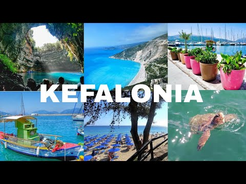 Exploring Kefalonia - Melissani Caves, Turtle Spotting & Swimming in Makris Gialos Beach