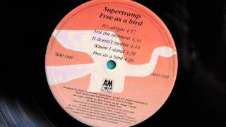 Supertramp - It's Alright (From Free as a bird) Studio version HQ