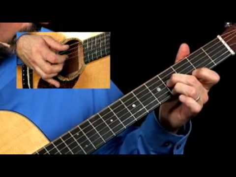 How to Play Amazing Grace on the Guitar - Part 1 - Acoustic Guitar Lessons