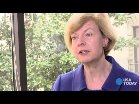 Tammy Baldwin on budget, being first openly gay senator