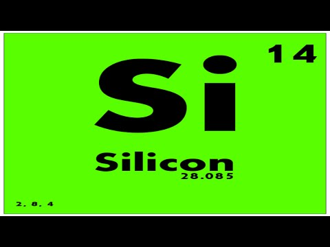 STUDY GUIDE: 14 Silicon | Periodic Table of Elements - YouTube