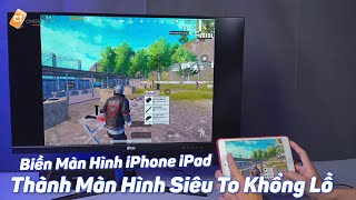 Biến Màn Hình iPhone, iPad Thành Màn Hình Siêu To Khổng Lồ Với Cáp Lightning To HDMI, VGA Hagibis