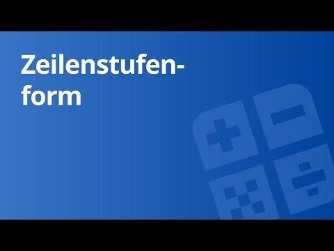 Rang einer Matrix (Lösungsmenge/n bei/m Gleichungssystem/en) | Mathe by Daniel Jung from YouTube · Duration:  6 minutes 20 seconds