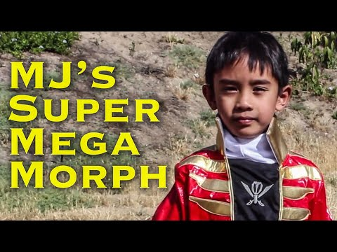 MORPH: MJ's Super Megaforce Red Power Ranger