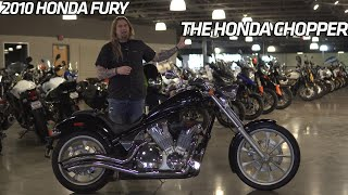 2010 honda fury with cobra exhaust and custom intake