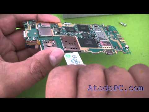 como desarmar desmontar abrir un celular Nokia N8