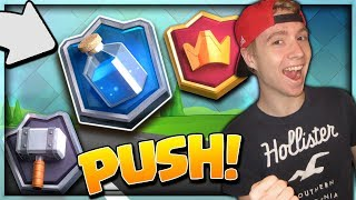 PUSHING TO MASTERS III! Going For Top 5,000 GLOBAL! | Clash Royale
