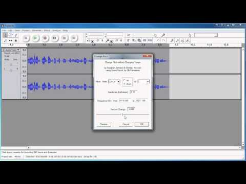Here's how to clean your audio up using Audacity