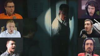 """""""Реакции Летсплейщиков"""" на Труп в Шкафу из Resident Evil 2 Remake"""