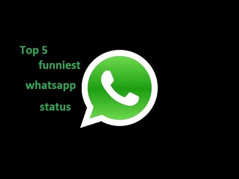 top 5 funniest whatsapp status ever youtube. Black Bedroom Furniture Sets. Home Design Ideas