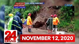24 Oras Express: November 12, 2020 [HD]