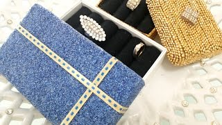 Creative Craft - Diy : Recycle Unused Box Into Jewellery Box