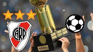 todos los goles de RIVER PLATE en la RECOPA Sudamericana
