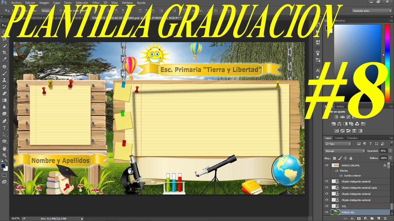 Plantilla psd pizarra en naturaleza para colocar fotos de graduacion ...