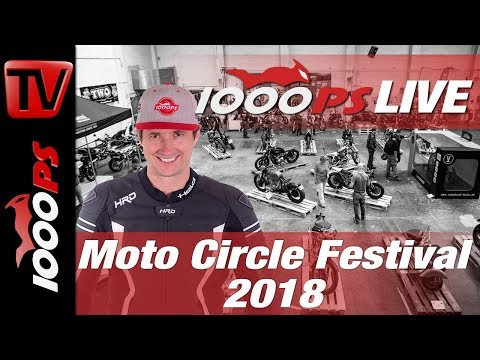 Moto Circle Festival Vienna 2018 - Custombikes live im Video