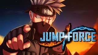 jump force create a character