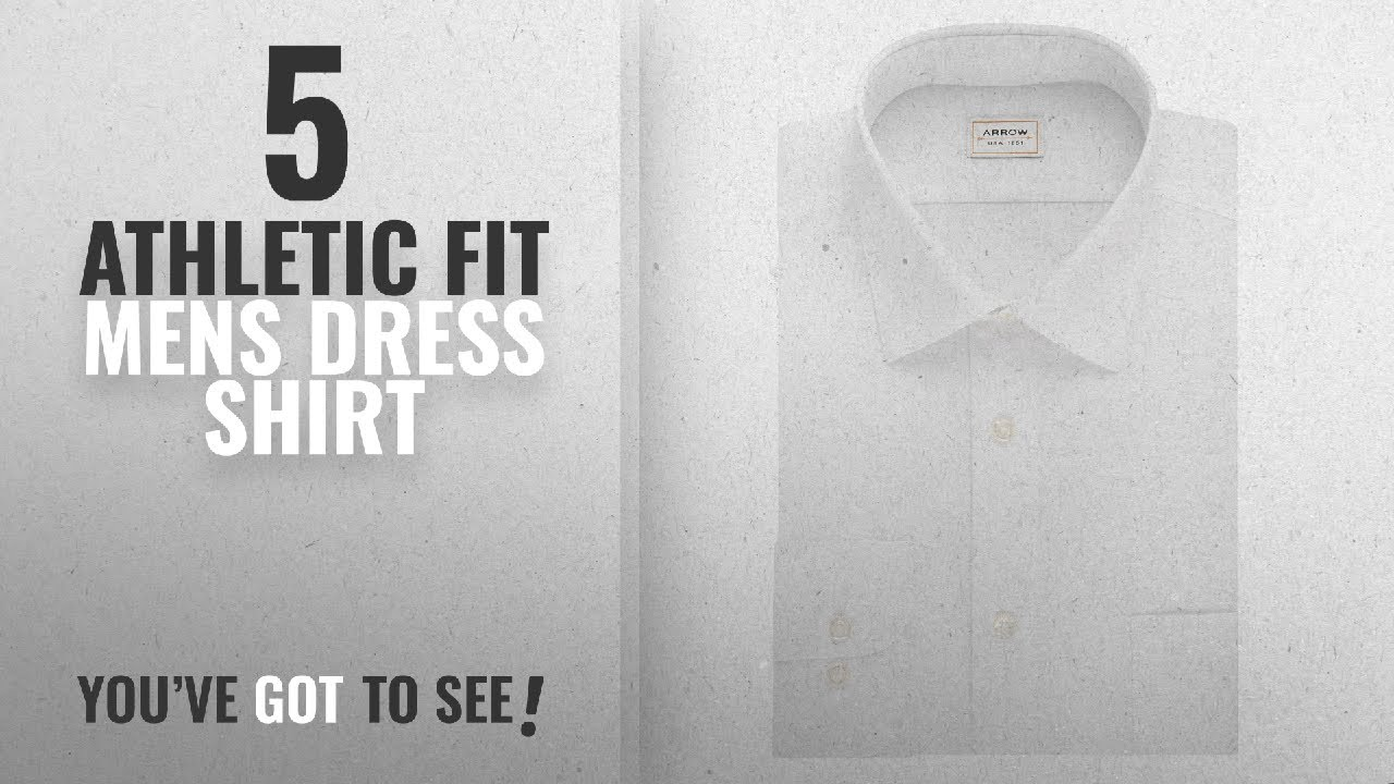 Top 10 Athletic Fit Mens Dress Shirt Winter 2018 Arrow Mens