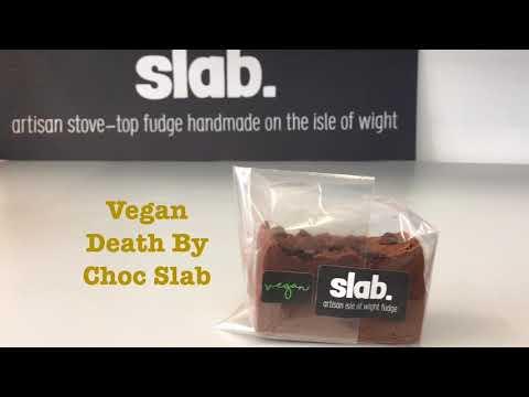 Vegan Death By Choc Slab Flavour Video - Slab Artisan Fudge