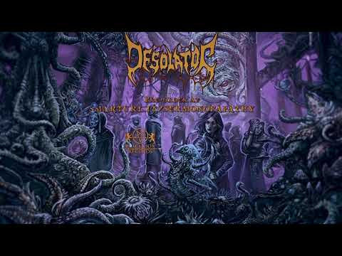 "DESOLATOR - ""The Great Law of the Dead"" feat. Karl Sanders (Nile)  (Official audio 2020)"