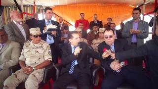 قناة السويس الجديدة: رئيس جامعة الازهر : العمل فى القناة