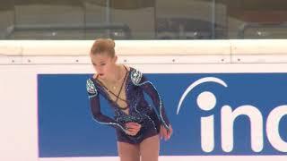 Алена Канышева КП гран-при ISU 2018-2019 JGP / Alena Kanysheva SP Grand-Prix