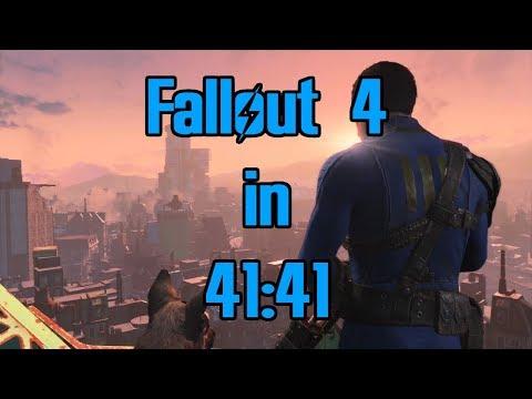 Fallout 4 Speedrun in 41:41 (World Record)