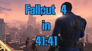 Fallout 4 Speedrun in 41:41 (Former World Record)