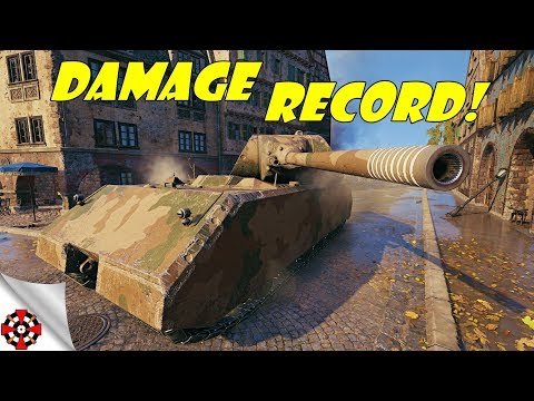 World of Tanks - Maus DAMAGE RECORD! (WoT Maus gameplay) thumbnail