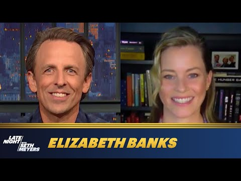 Elizabeth Banks Wanted to Be a Broadcast News Journalist