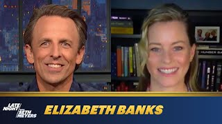 Elizabeth banks talks about her love of the show press your luck, early dreams being a journalist and what she hopes legacy in hollywood is.late n...