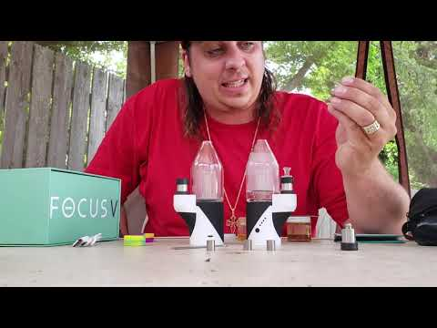 Carta Vape Rig by Focus V Official Review - CustomGrow420