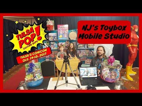 NJ's Toybox Mobile Studio at Tulsa Pop Culture Expo!