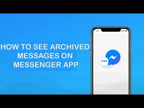 How To Access Archived Messages On Facebook Messenger