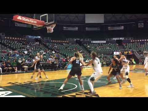 Hawaii Women's Basketball Highlights vs. HPU 12-30-17