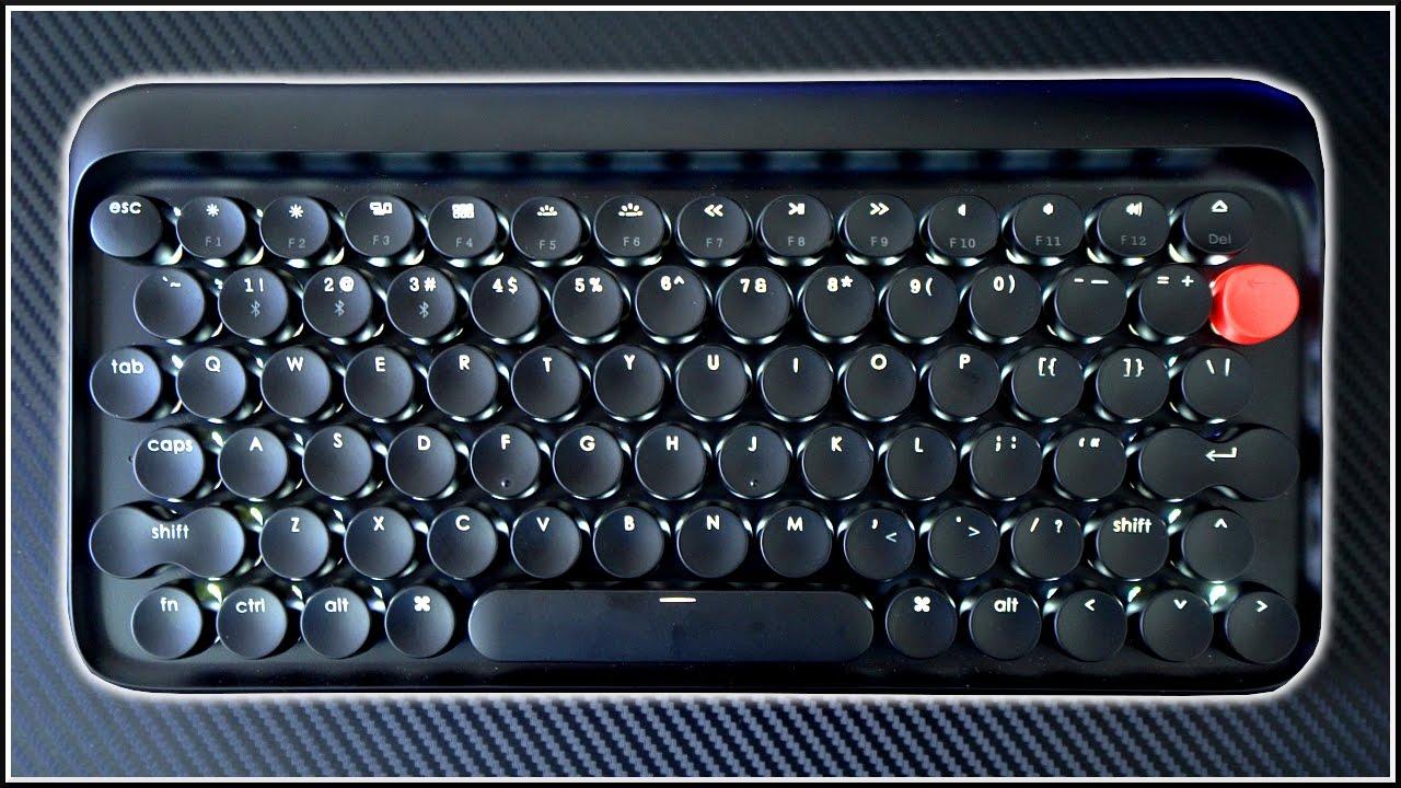 1d7a19984e5 A Retro Wireless Mechanical Keyboard?! - YouTube