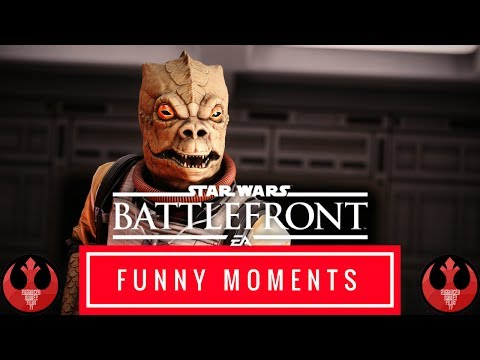 Star Wars Battlefront - Funny Moments #1 - THE RAGE IS CONSUMING ME!