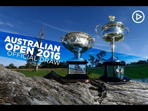 The Australian Open draw | Australian Open 2016